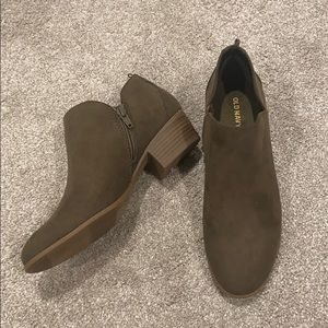 Old Navy Faux-Suede Booties